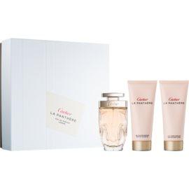Cartier La Panthère Légere ajándékszett II.  Eau de Parfum 75 ml + testápoló tej 100 ml + tusfürdő gél 100 ml