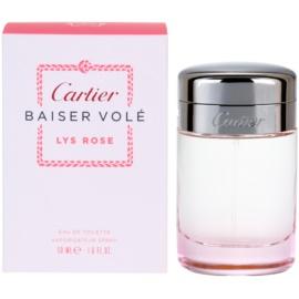 Cartier Baiser Volé Lys Rose Eau de Toilette para mulheres 50 ml
