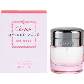 Cartier Baiser Volé Lys Rose Eau de Toilette para mulheres 30 ml