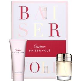 Cartier Baiser Volé coffret XIV. Eau de Parfum 50 ml + gel de duche 100 ml