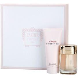 Cartier Baiser Volé coffret VI. Eau de Parfum 50 ml + creme corporal 100 ml