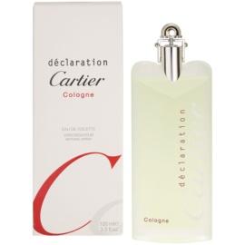 Cartier Declaration Cologne eau de toilette férfiaknak 100 ml