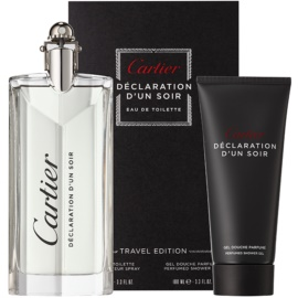 Cartier Declaration darilni set XII. toaletna voda 100 ml + gel za prhanje 100 ml