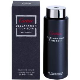 Cartier Declaration d'Un Soir gel de dus pentru barbati 200 ml