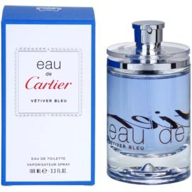 Cartier Eau de Cartier Vetiver Bleu woda toaletowa unisex 100 ml