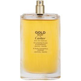 Cartier Must de Cartier Gold woda perfumowana tester dla kobiet 100 ml