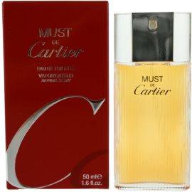 Cartier Must De Cartier Eau de Toilette para mulheres 50 ml