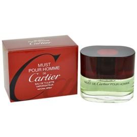 Cartier Must Pour Homme Eau de Toilette für Herren 100 ml