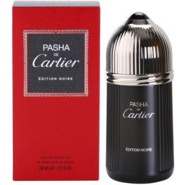 Cartier Pasha de Cartier Edition Noire toaletní voda pro muže 100 ml