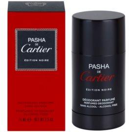Cartier Pasha de Cartier Edition Noire dezodorant w kulce dla mężczyzn 75 ml