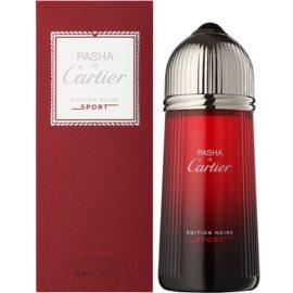 Cartier Pasha de Cartier Edition Noire Sport eau de toilette voor Mannen  150 ml