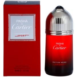 Cartier Pasha de Cartier Edition Noire Sport toaletní voda pro muže 100 ml