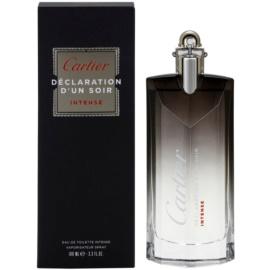 Cartier Declaration D'Un Soir Intense Eau de Toilette para homens 100 ml