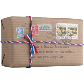 Castelbel Postcards Lemon & Basil Bar Soap For Hands  200 g