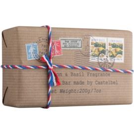 Castelbel Postcards Lemon & Basil Luxusseife für die Hände  200 g