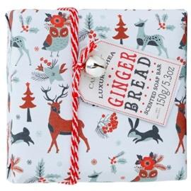 Castelbel Ginger Biscotti Happy Holidays portugiesische Luxusseife  150 g