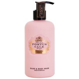 Castelbel Portus Cale Rosé Blush tisztító gél a kezekre és a testre  300 ml