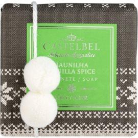 Castelbel Vanilla Spice luxusní mýdlo s bambulkou  150 g