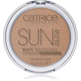 Catrice Sun Glow pudra  bronzanta culoare 020 Deep Bronze  9,5 g