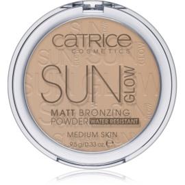 Catrice Sun Glow pudra  bronzanta culoare 030 Medium Bronze  9,5 g