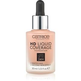Catrice HD Liquid Coverage make-up odstín 040 Warm Beige 30 ml