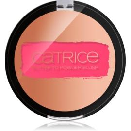 Catrice Blush Flush blush cremos culoare 01 Vibrant Pink 3,87 g