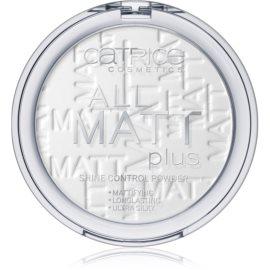 Catrice All Matt Plus poudre matifiante teinte 001 Universal 10 g