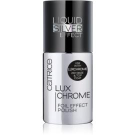 Catrice Luxchrome лак для нігтів з дзеркальним ефектом відтінок 01 Liquid Silver 8 мл
