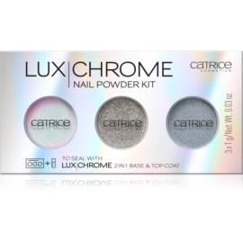 Catrice Luxchrome pigmenti za nohte odtenek 01 Effect Overload 3 x 1 g