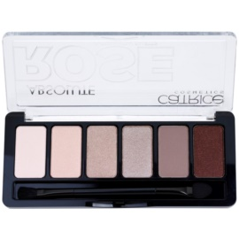 Catrice Absolute Rose paleta očních stínů odstín 010 Frankie Rose To Hollywood 6 g