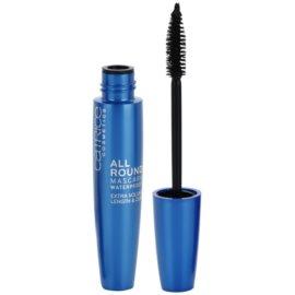 Catrice Allround mascara cils allongés, courbés et volumisés waterproof teinte 010 Blackest Black 12 ml