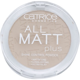 Catrice All Matt Plus mattierendes Puder Farbton 015 Natural Beige 10 g