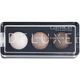 Catrice Deluxe trio szemhéjfesték  árnyalat 010 Antique C'est Trés Chic 2,2 g
