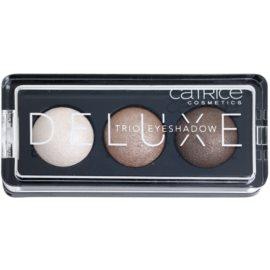 Catrice Deluxe trio oční stíny odstín 010 Antique C'est Trés Chic 2,2 g