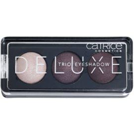 Catrice Deluxe trio szemhéjfesték  árnyalat 030 Rose Vintouch 2,2 g
