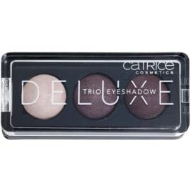 Catrice Deluxe trio oční stíny odstín 030 Rose Vintouch 2,2 g