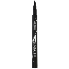 Catrice Glam & Doll Eyelinerstift Farbton 010 Super Black 1 ml