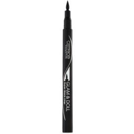 Catrice Glam & Doll Eyelinerstift Farbton 010 Super Black 1 ml