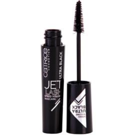 Catrice Jet Lash Speed Volume Volumenmascara mit Verlängerungseffekt und Wimperntrennung Farbton 010 Ultra Black 11 ml