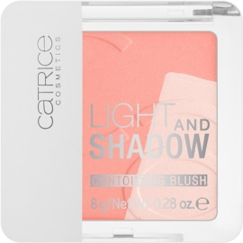 Catrice Light & Shadow kontúrozó arcpír árnyalat 020 A Flamingo in Santo Domingo 8 g