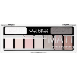 Catrice The Modern Matt Collection Palette mit Lidschatten Farbton 010 The Must-Have Matts 10 g