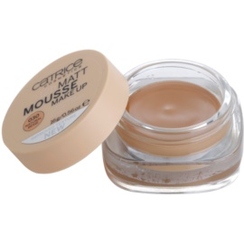 Catrice Matt Mousse 12h mattító hab állagú make-up 030 Natural Beige  16 g
