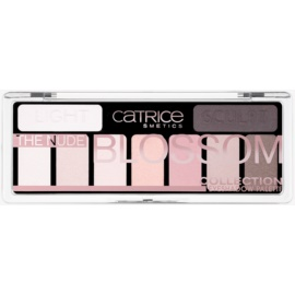 Catrice The Nude Blossom Collection Palette mit Lidschatten Farbton 010 Blossom 'N Roses 10 g