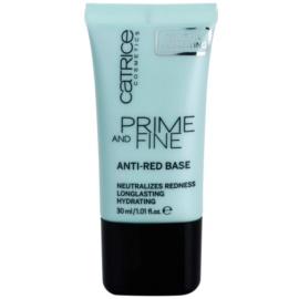 Catrice Prime And Fine podkladová báze proti zarudnutí  30 ml
