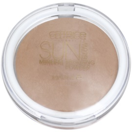 Catrice Sun Glow Mineral bronzující pudr s matným efektem odstín 010 Golden Light 8 g