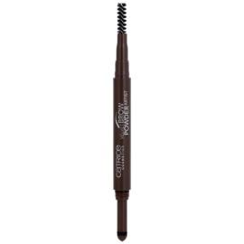 Catrice Velvet Brow Powder Artist Augenbrauenstift Farbton 030 Dark Brow(n) Is The New Black 0,5 g