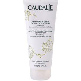 Caudalie Body delikatny szampon oczyszczający do wszystkich rodzajów włosów  200 ml