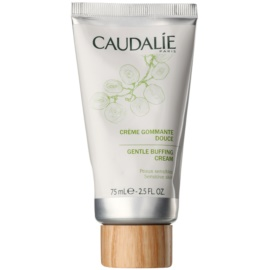 Caudalie Masks&Scrubs Gyengéd hámlasztó krém az érzékeny arcbőrre  75 ml