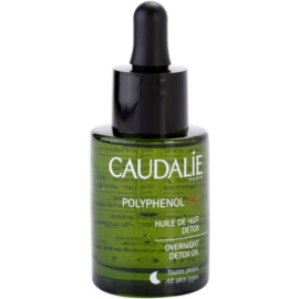 Caudalie Polyphenol C15 detoxikačný nočný olej proti vráskam  30 ml