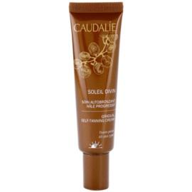 Caudalie Soleil Divin crema autobronzanta pentru fata  30 ml